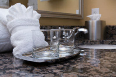 clean-bathroom-granite-countertop